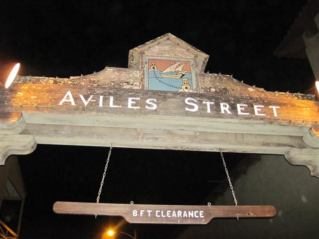 Aviles Street, which is in the historic district of St. Augustine, has long been identified as the oldest street in the United States.