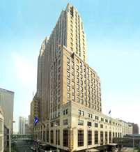 The Hilton Cincinnati Netherland Plaza in Ohio was the first multi-use complex in the United States, making it significant and progressive. The Netherland Plaza was described as a