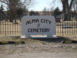 Some time in the 1800's a cruel farmer owned the land that is now the Alma Cemetery. As Alma expanded and land was needed the officials went to the farmer with a generous offer to buy the land. The farmer refused to sell.