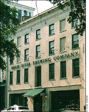 Moon River Brewing Company is located in the former City Hotel. Elazer Early, a native of Charleston, S.C, built the City Hotel in 1821.