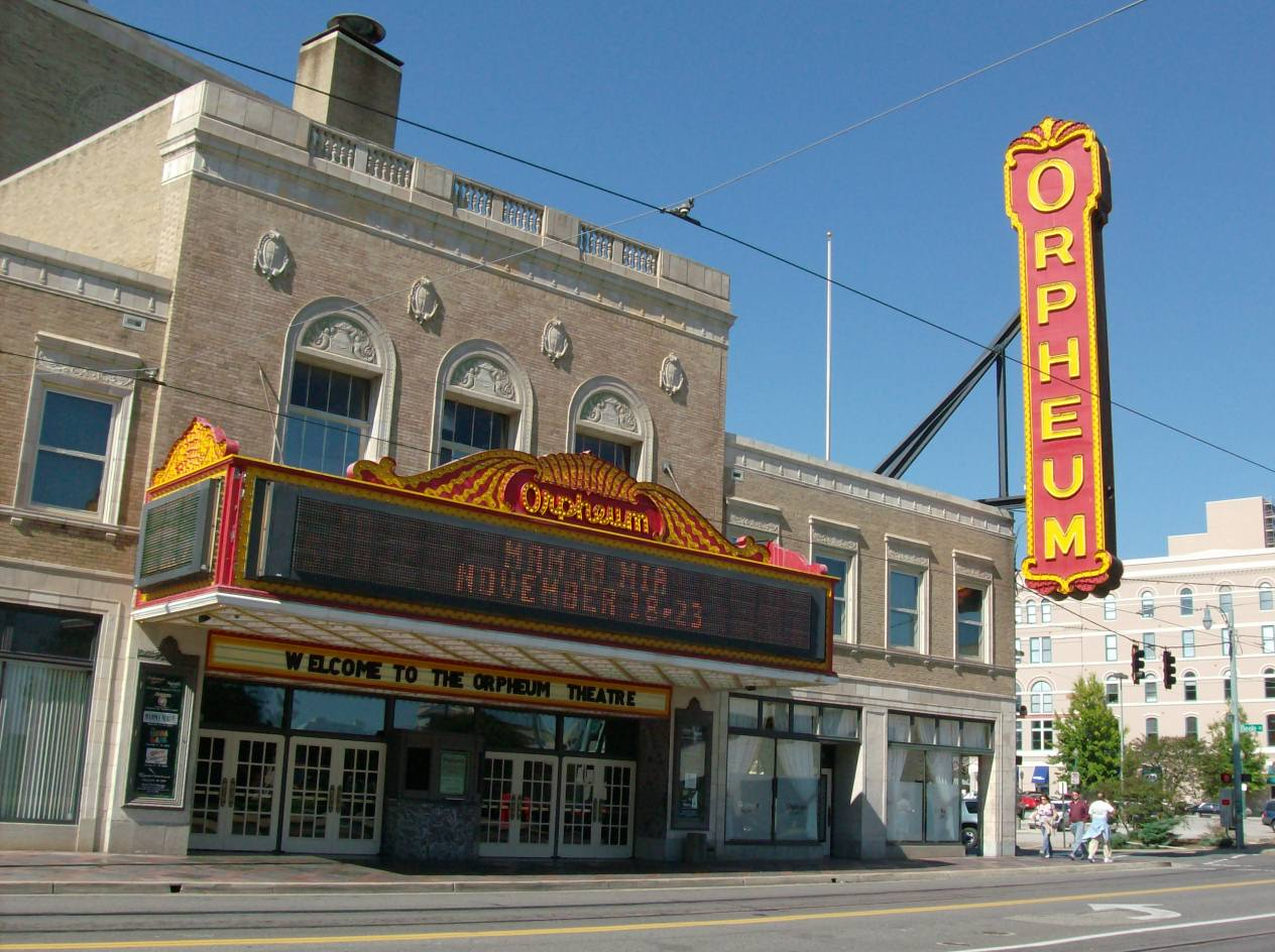Orpheum Theater paranormal
