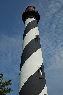 Constructed of Alabama brick and Philadelphia iron, the lighthouse is St. Augustine's oldest surviving brick structure. In 1876, a brick light keeper's house was added to the site.