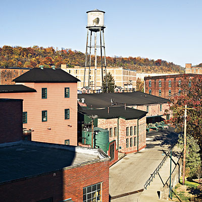 Today the Buffalo Trace Distillery site encompasses 119 acres and 114 buildings.