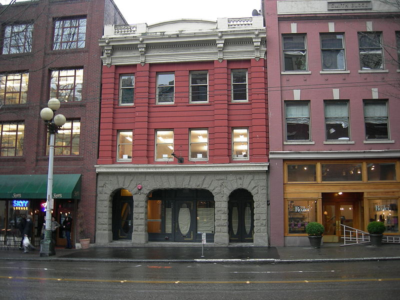 The Butterworth Building or Butterworth Block at 1921 First Avenue in Seattle, Washington (U.S. state) was originally built as the Butterworth & Sons mortuary, which moved into this location in 1903 and moved to larger quarters in 1923.