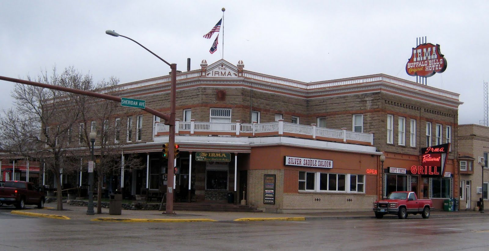 Step back in time- into the old west of today, at the Irma Hotel, - a place that Buffalo Bill Cody called