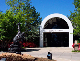 Gilcrease Museum was founded in 1949 as a private museum by Tulsa oilman Thomas Gilcrease (1890-1962), who amassed the nation's most comprehensive collection of art of the American West, as well as major collections of historical documents and artifacts.