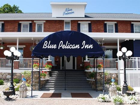 The Blue Pelican Inn has been known by many names. It was built in 1924 by Art Carpenter, Joe Blakely and Jack Garrison, all local stonemasons.