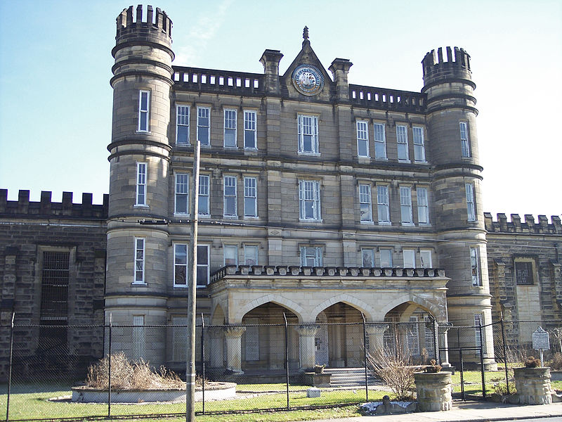 The prison at Joliet provided the prototype for the West Virginia Penitentiary. It was an imposing stone structure fashioned in the castellated Gothic architectural style (adorned with turrets and battlements, like a castle).