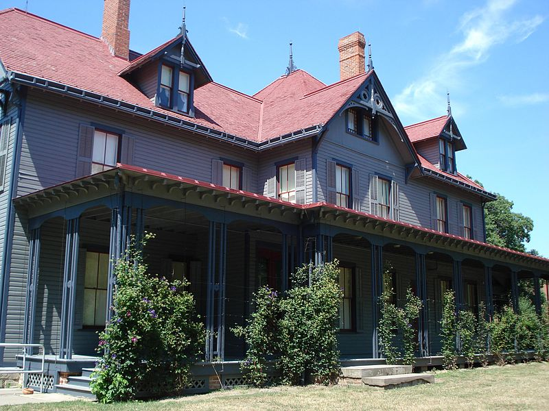 Garfield acquired the home in 1876 to accommodate his large family. The home, named Lawnfield by reporters, was the site of the first successful front porch campaign in 1880.