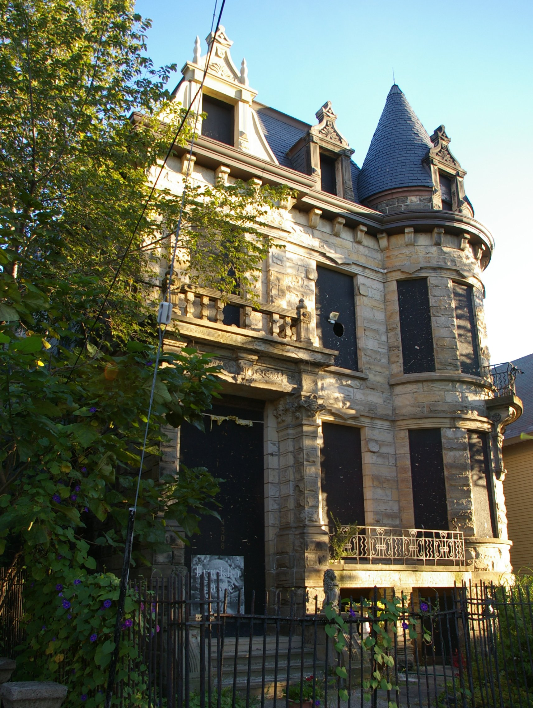 Franklin Castle paranormal