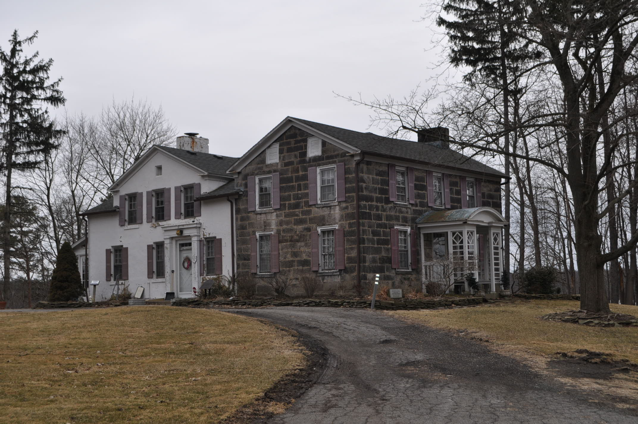 The Judge William Shaw Anderson house, also known as the Strock Stone House, was built in 1831 of huge blocks of sandstone, some weighing as much as 750 pounds, quarried from Stony Ridge on South Turner Road in Austintown.