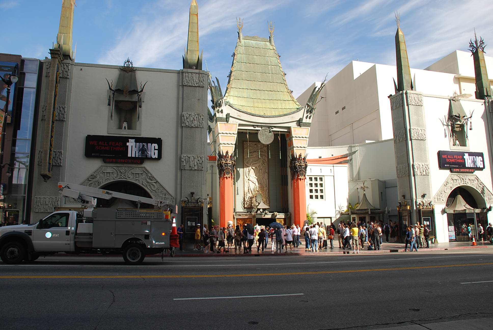 Grauman's Chinese Theatre paranormal