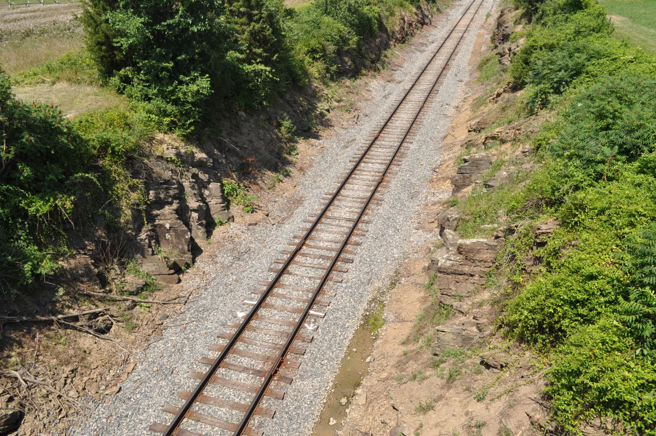 McPherson Ridge Railway Cut paranormal