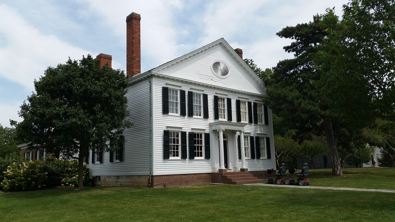 Noah Webster Home paranormal