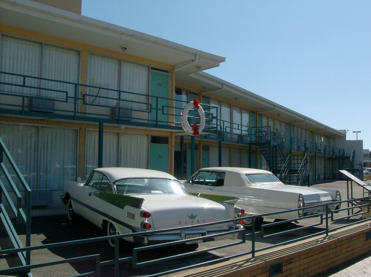The Lorraine Motel a.k.a. National Civil Rights Museum