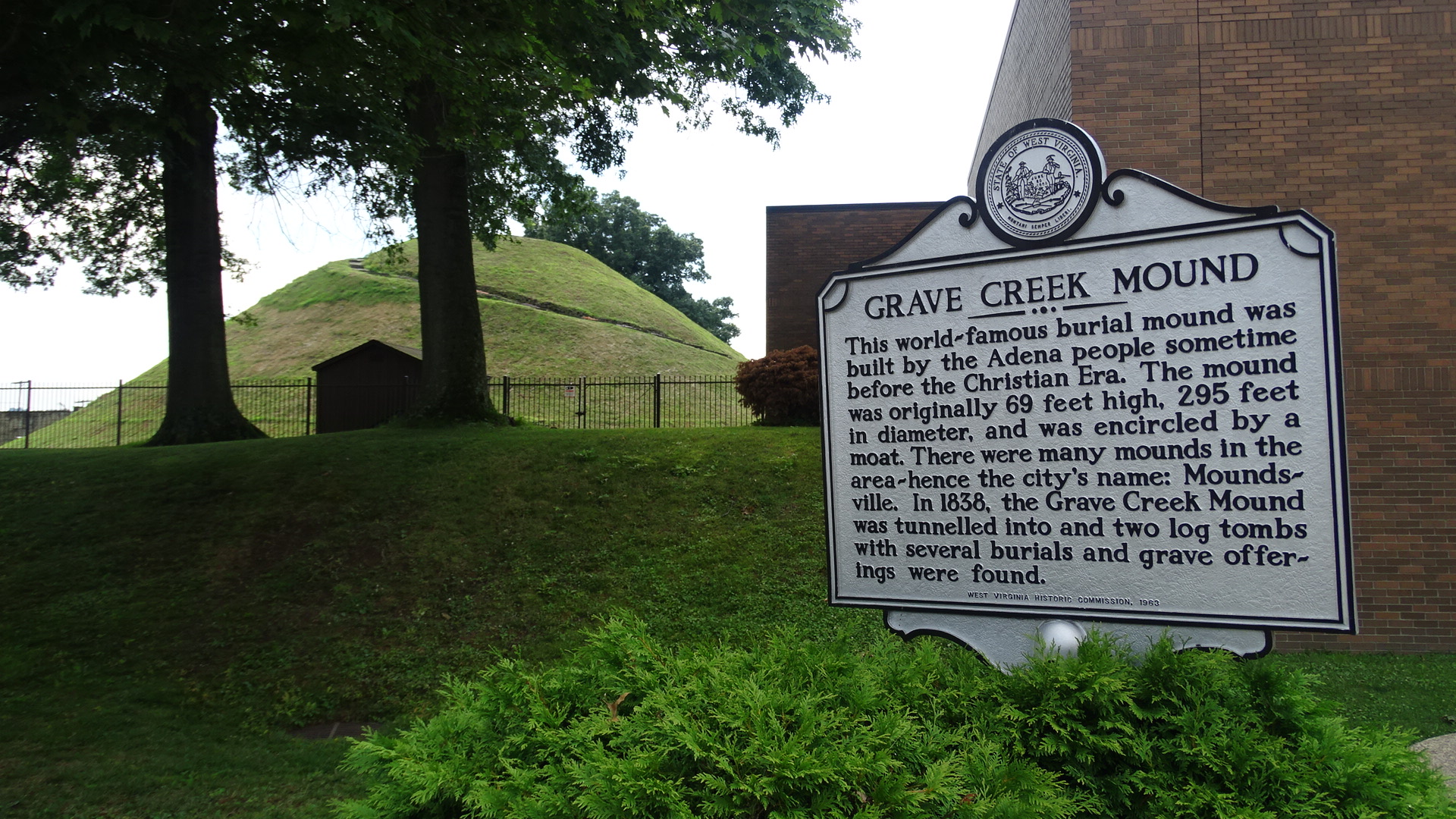Grave Creek Mound Historical Site