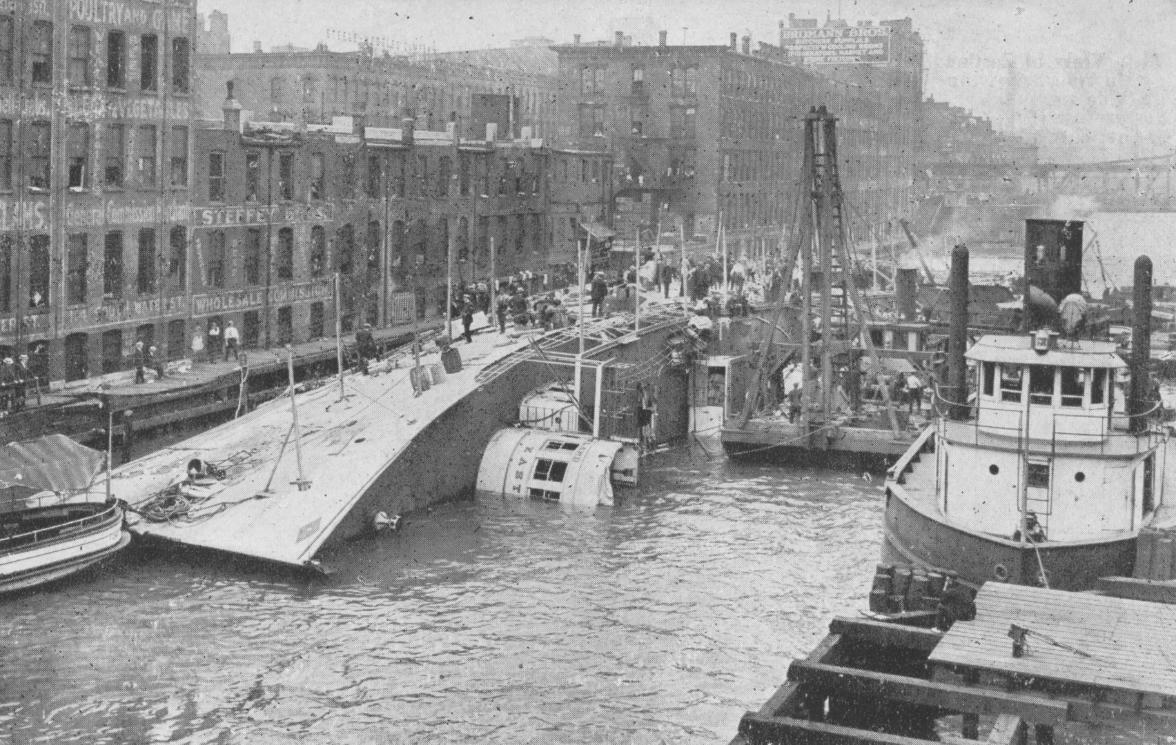S.S. Eastland Disaster Location