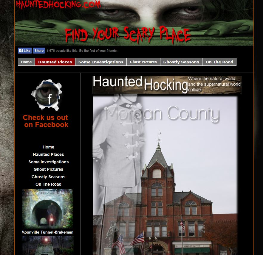 Morgan County Ohio Ghosts and Hauntings: Twin City Opera House - Haunted Ohio -McConnelsville, Ohio