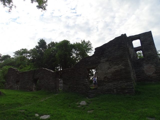 Ruins of church in Harpers Ferry that was destroyed by American Civil War battles.