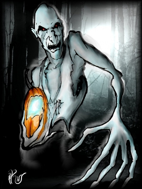 In Ireland and Scotland, people believed that spirits and ghosts could enter their world on Halloween. These spirits and ghosts would be attracted to the comforts of their earthly lives. People not wanting to be visited by these ghosts would set food and treats out to appease the roaming spirits and began to make their own versions of Jack's lanterns by carving scary faces into turnips or potatoes and placing them into windows or near doors to frighten away Stingy Jack and other wandering evil spirits. In England, large beets are used. Immigrants from these countries brought the jack-o'-lantern tradition with them when they came to the United States. They soon found that pumpkins, a fruit native to America, make perfect jack-o'-lanterns. They were softer and easier to carve than the turnips and potatoes of their homeland.Find out more at: http://www.panicd.com/encyclopedia/jack-o-lanterns.html