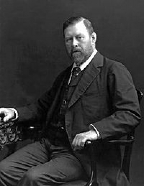 Abraham Bram Stoker (8 November 1847 - 20 April 1912) was an Irish novelist and short story writer, best known today for his 1897 Gothic novel Dracula. During his lifetime, he was better known as personal assistant of actor Henry Irving and business manager of the Lyceum Theatre in London, which Irving owned.