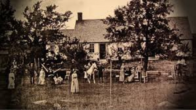 Demonic haunting: In 1971, the Perron family moved into their new home in rural Burrillville, Rhode Island, a sweeping farmhouse built in the 18th century.