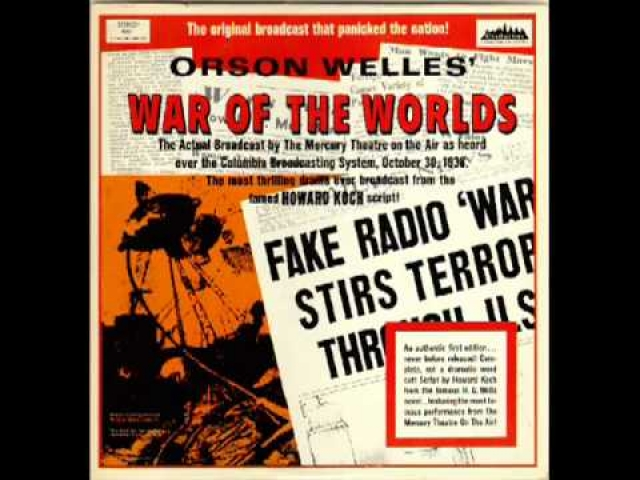 The War of the Worlds is an episode of the American radio drama anthology series The Mercury Theatre on the Air.