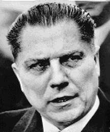A story about the disappearance of Jimmy Hoffa.