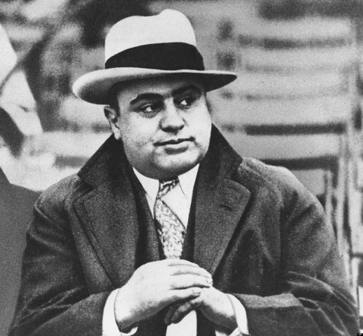 Is Al Capone still hanging around trying to run things?