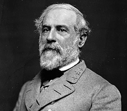 Did Robert E. Lee come back as a small boy?