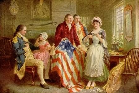 Why is Betsy Ross so sad?