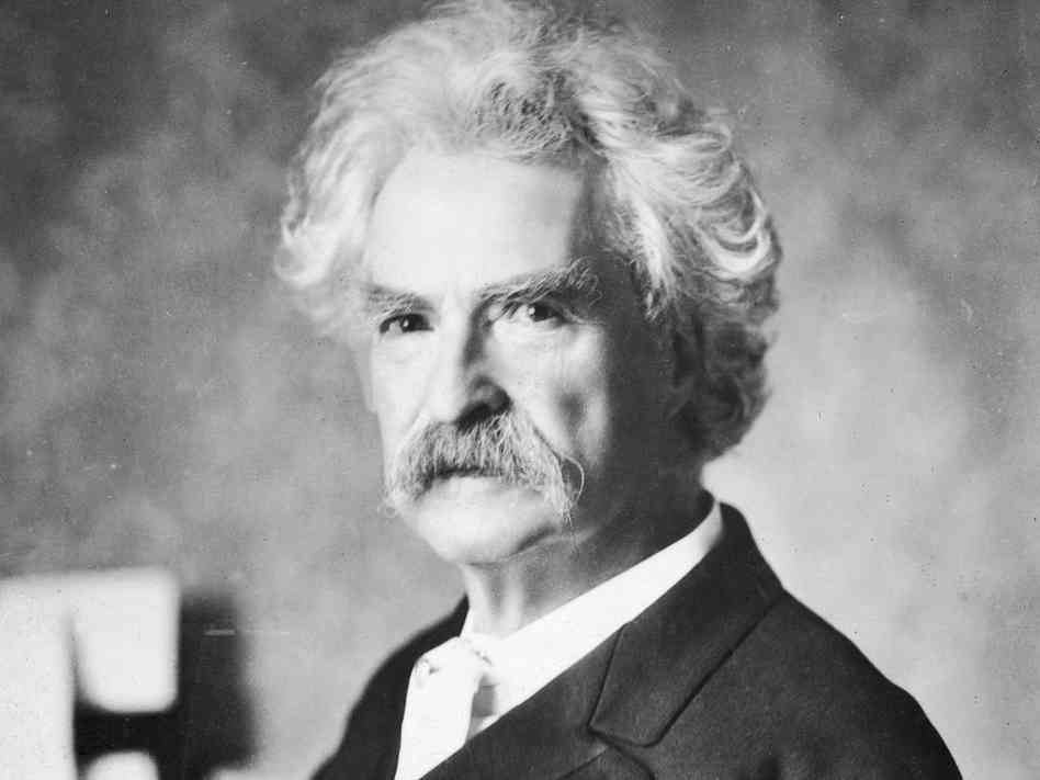 Is Mark Twain stuck at the house he once lived?