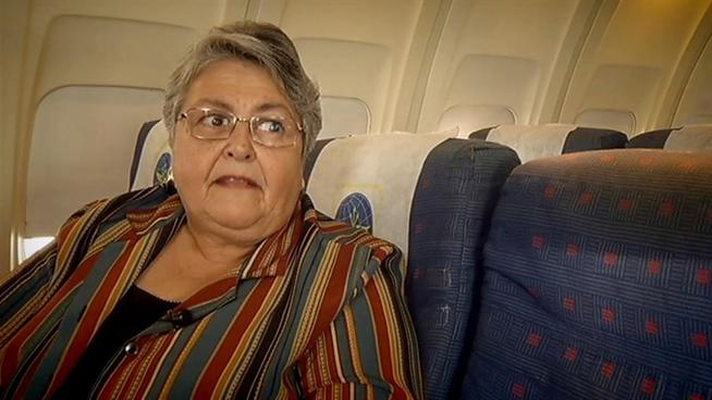 A flight attendant who was aboard the plane during the crash.  Beverly did several heroic things such as sing Christmas carols to help keep survivors calm, and to tell everyone not to light a match due to the smell of jet fuel.