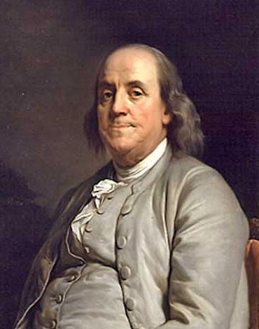 Sightings of Ben Franklin's Ghost are often reported at the American Philosophical Society in Philadelphia.