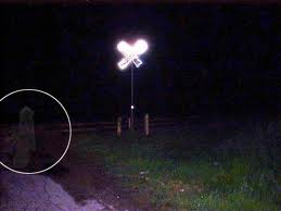 San Antonios Railroad Crossing Ghost