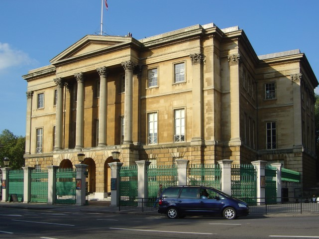 Apsley House in London, England has been home to some of England's most revered politicians, and reportedly, some ghostly spirits as well.