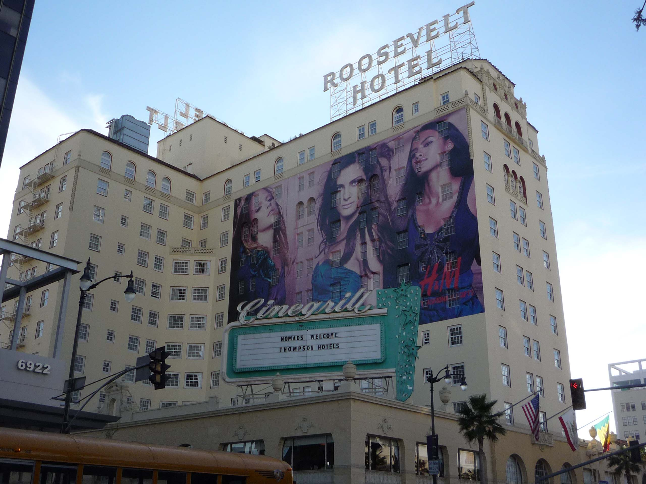 The Hollywood Roosevelt Hotel Hauntings