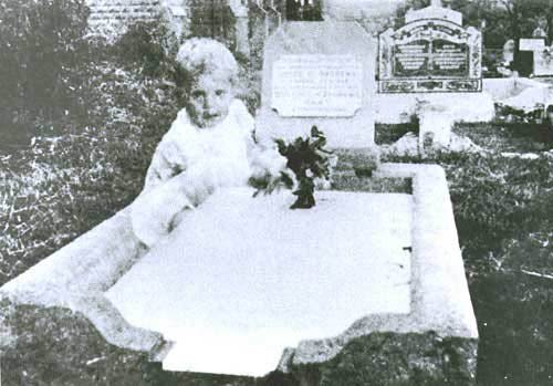 Picture of Cemetery Ghost Baby