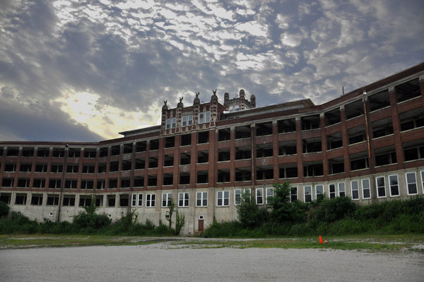 The Waverly Hills Sanatorium located just outside of Louisville, Ky., has been empty for decades and is considered to be one of the most haunted buildings in the country