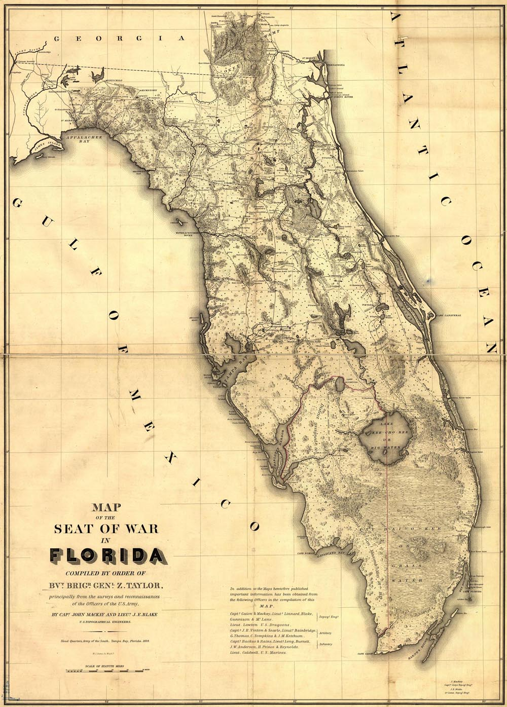 We found the following information that refers to a possible curse placed by the Seminole Indians about the everglades.