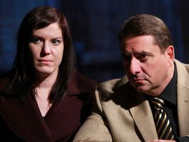 The Dead Files is an American paranormal television series that premiered on September 23, 2011, on the Travel Channel. The program features psychic medium Amy Allan and former NYPD homicide detective Steve DiSchiavi as they investigate locations that are reported to be haunted. The show initially airs new episodes on Fridays at 10:00 pm EST.