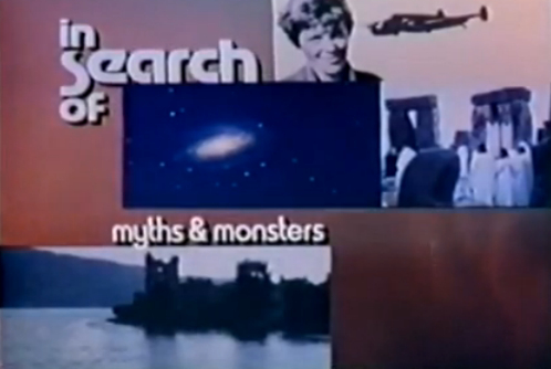 In Search of... is a television series that was broadcast weekly from 1977 to 1982, devoted to mysterious phenomena. It was created after the success of three one-hour TV documentaries produced by creator Alan Landsburg: <i>In Search of Ancient Astronauts</i> in 1973 (based on the book <i>Chariots of the Gods?</i> by Erich von Daniken), <i>In Search of Ancient Mysteries</i> and <i>The Outer Space Connection</i>, both in 1975 (later adapted into popular paperbacks written by Landsburg). All three featured narration by Rod Serling, who was the initial choice to host the spin-off show. After Serling's death, Leonard Nimoy was selected to be the host.