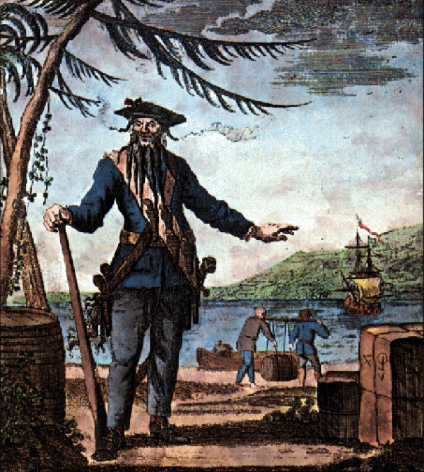 The story about Blackbeard's Treasure