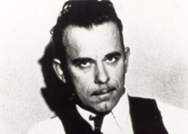 The story about John Dillinger's
