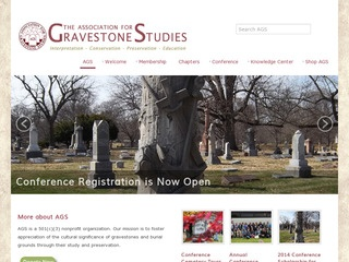 The Association for Gravestone Studies