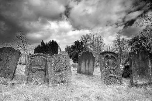 Do you know why most headstones face east?