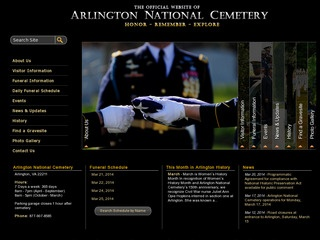 The Official Website of Arlington National Cemetery
