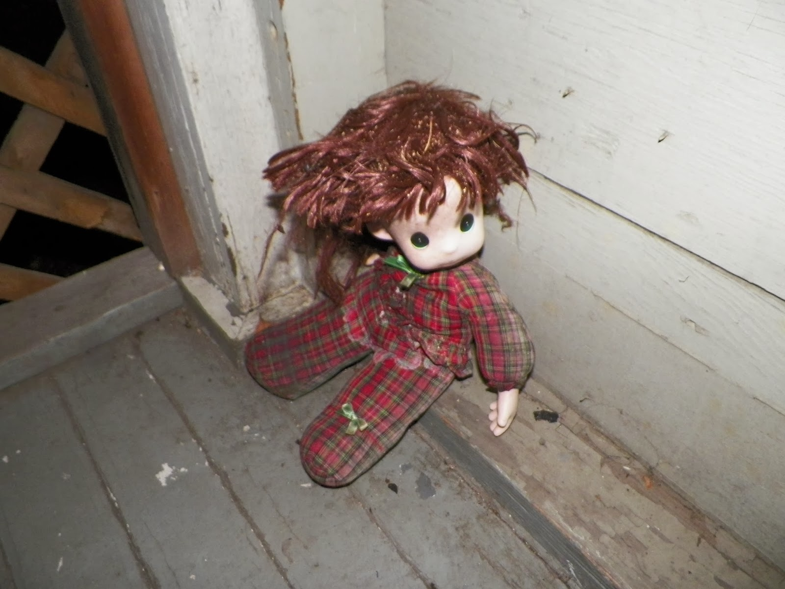 A haunted doll from Lisbon, Ohio.