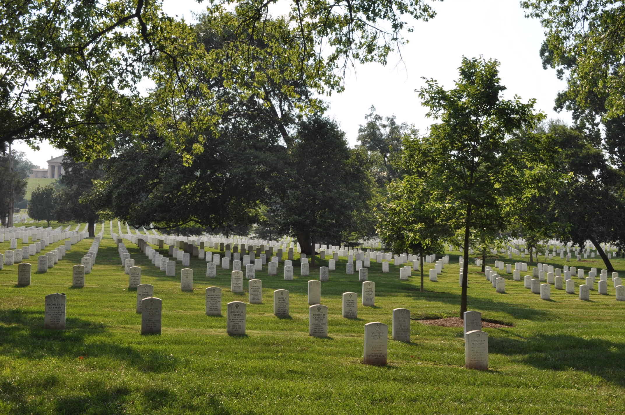 Arlington National Cemetery paranormal